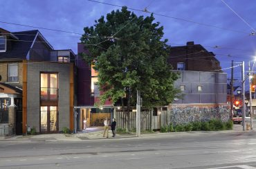 The Driveway House – 1294 College Street – Article By Architourist, Dave LeBlanc of the Globe and Mail Newspaper