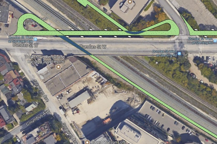 A Sweeter Bike Path @ Toronto's Junction Triangle